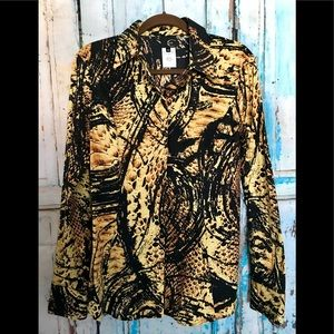 Just Cavalli Python snake shirt sz 46